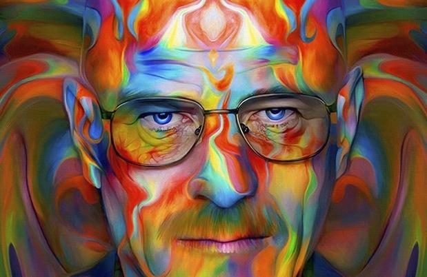 The Psychedelic Pop Art Portraits of Nicky Barkla
