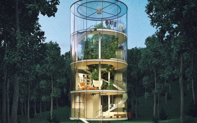 This Awesome Glass House Works with Nature Instead of Against it