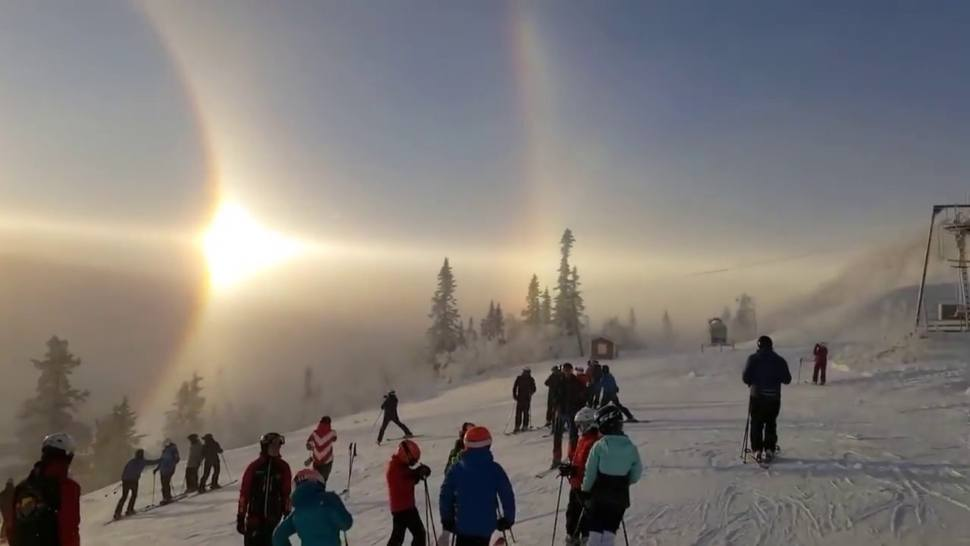 (Video) When a Majestic Rare Solar Phenomenon Appeared in Sweden