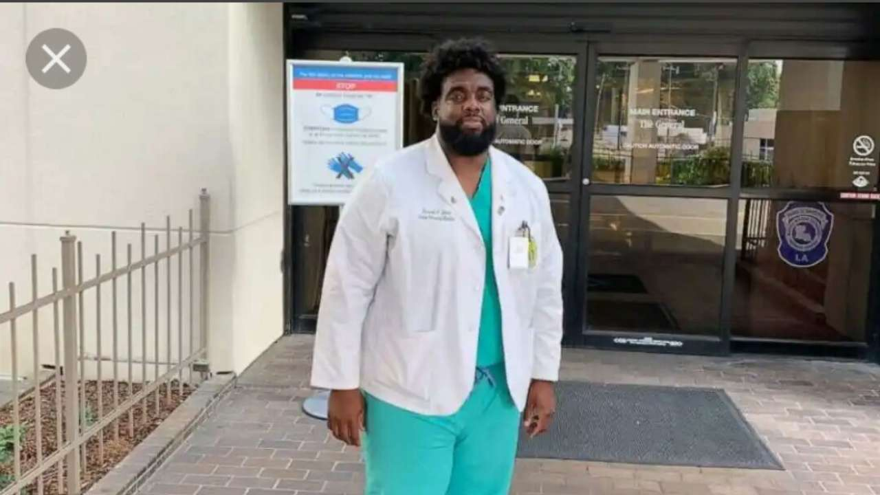 An Ex-Security Guard is Now a Med Student at the Hospital Where He Used to Work